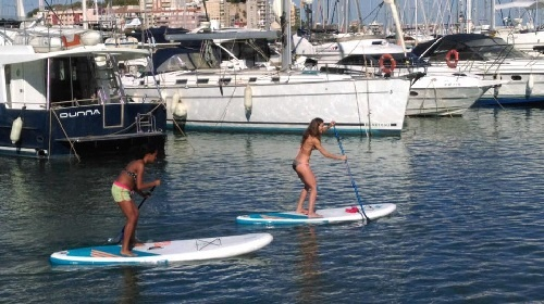 activideades clases alquiler paddle surf Marina Dénia