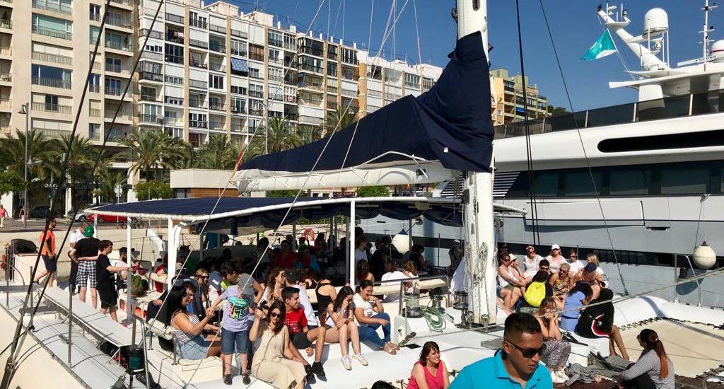 Semana Azul experiencia piloto Punt nautic Creama