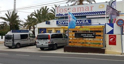 Diving Javea
