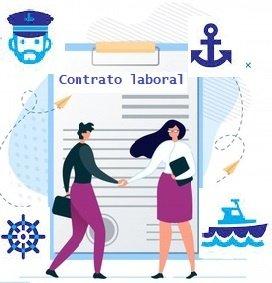 Información contratación laboral formación prácticas náutica