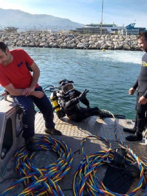 buceo profesional trabajos subacuáticos obras marítimas pego
