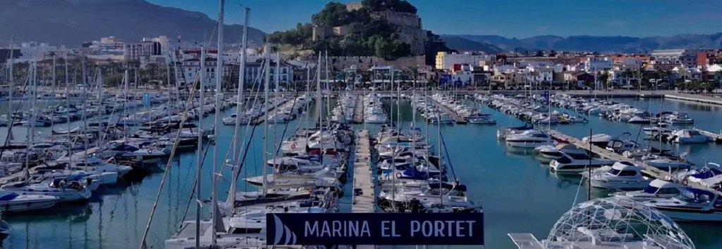 Puerto Deportivo Amarres Ocio Restaurante Tienda Denia