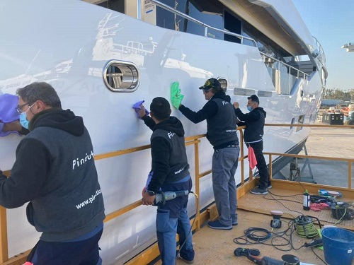 Pináutica Yacht Painting