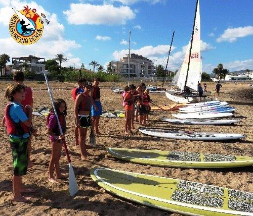 alquiler escuela windsurf paddle surf Catamarán kayak denia